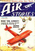 Air Stories (1927-1939 Fiction House) Pulp Vol. 1 #11