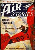 Air Stories (1927-1939 Fiction House) Pulp Vol. 4 #4