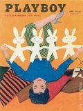 Playboy Magazine (1953-Present HMH Publishing) Vol. 2 #4