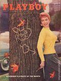 Playboy Magazine (1953-Present HMH Publishing) Vol. 2 #11
