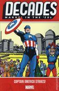 Decades Marvel in the '50s: Captain America Strikes TPB (2019 Marvel) 1-1ST