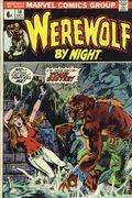 Werewolf by Night (1972 1st Series) UK Edition 10UK