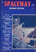 Spaceway Science Fiction (1953-1970 Fantasy Publishing Co.) Pulp Vol. 4 #1