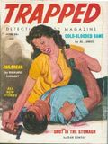 Trapped Detective Story Magazine (1956-1963 Headline Publications) Pulp Vol. 3 #1