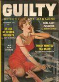 Guilty Detective Story Magazine (1956-1963 Feature Publications) Pulp Vol. 3 #3