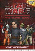 Star Wars The Clone Wars Bounty Hunter Boba Fett SC (2010 Lucas Books) 1-1ST
