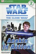 Star Wars The Clone Wars Anakin in Action TPB (2008 DK Publishing) 1-REP