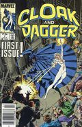 Cloak and Dagger (1985 Marvel 2nd Series) Canadian Price Variant 1