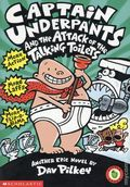 Captain Underpants and the Attack of the Talking Toilets SC (1999 Scholastic) 1-REP