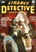 Strange Detective Mysteries (1937-1943 Popular Publications) Pulp Vol. 1 #1