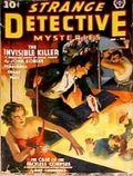 Strange Detective Mysteries (1937-1943 Popular Publications) Pulp Vol. 3 #1