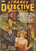 Strange Detective Mysteries (1937-1943 Popular Publications) Pulp Vol. 3 #2