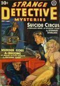 Strange Detective Mysteries (1937-1943 Popular Publications) Pulp Vol. 3 #4