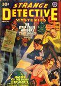 Strange Detective Mysteries (1937-1943 Popular Publications) Pulp Vol. 4 #1