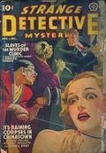 Strange Detective Mysteries (1937-1943 Popular Publications) Pulp Vol. 4 #2