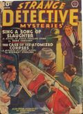 Strange Detective Mysteries (1937-1943 Popular Publications) Pulp Vol. 4 #4