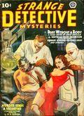 Strange Detective Mysteries (1937-1943 Popular Publications) Pulp Vol. 5 #1