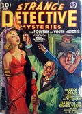 Strange Detective Mysteries (1937-1943 Popular Publications) Pulp Vol. 5 #2