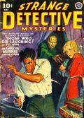 Strange Detective Mysteries (1937-1943 Popular Publications) Pulp Vol. 6 #3