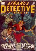 Strange Detective Mysteries (1937-1943 Popular Publications) Pulp Vol. 6 #4