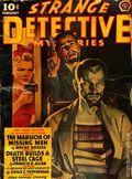 Strange Detective Mysteries (1937-1943 Popular Publications) Pulp Vol. 7 #2