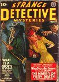 Strange Detective Mysteries (1937-1943 Popular Publications) Pulp Vol. 7 #3