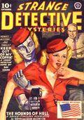 Strange Detective Mysteries (1937-1943 Popular Publications) Pulp Vol. 8 #1