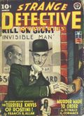 Strange Detective Mysteries (1937-1943 Popular Publications) Pulp Vol. 8 #4