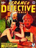 Strange Detective Mysteries (1937-1943 Popular Publications) Pulp Vol. 9 #1