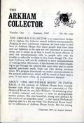 Arkham Collector (1967-1971 Arkham House) 1
