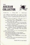 Arkham Collector (1967-1971 Arkham House) 2