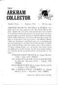 Arkham Collector (1967-1971 Arkham House) 3