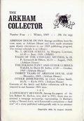 Arkham Collector (1967-1971 Arkham House) 4