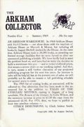 Arkham Collector (1967-1971 Arkham House) 5