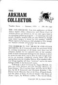 Arkham Collector (1967-1971 Arkham House) 7