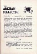 Arkham Collector (1967-1971 Arkham House) 10