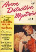 Avon Detective Mysteries (1947 Avon Book Company) 3