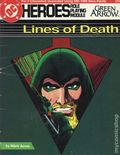 DC Heroes Role Playing Module Lines of Death (1987 Mayfair) 0
