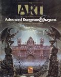 Art of the Advanced Dungeons and Dragons Fantasy Game SC (1989 TSR) 1-REP