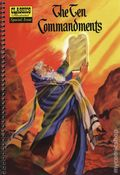 Classics Illustrated Special Issue: Moses and the Ten Commandments GN (2010 Jack Lake) Spiralbound Edition 1-1ST
