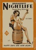 Broadway Night Life (1933-1934 Bill Publishing Co.) Vol. 1 #1