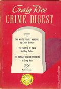 Craig Rice Crime Digest (1945 Anson Bond Publications) 1