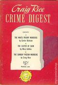 Craig Rice Crime Digest (1945 Anson Bond Publications) 1