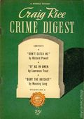 Craig Rice Crime Digest (1945 Anson Bond Publications) 2
