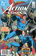 Action Comics (1938 DC) Mark Jewelers 572MJ