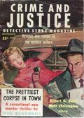 Crime and Justice Detective Story Magazine (1956-1957 Everett M. Arnold) 2