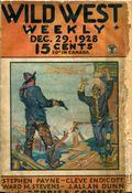 Wild West Weekly (1927-1943 Street & Smith) Pulp Vol. 38 #1