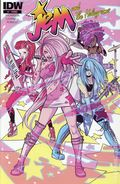Jem and the Holograms (2015 IDW) 1PROMO