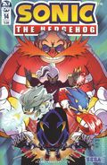 Sonic The Hedgehog (2018 IDW) 14A