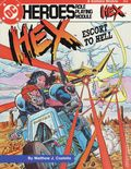 DC Heroes Role-Playing Module Hex Escort to Hell SC (1986 Mayfair) 0